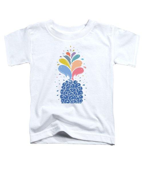Seapple Toddler T-Shirt by Mustafa Akgul