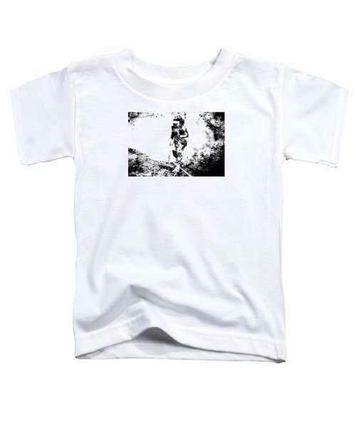 Serena Williams Dont Quit Toddler T-Shirt by Brian Reaves