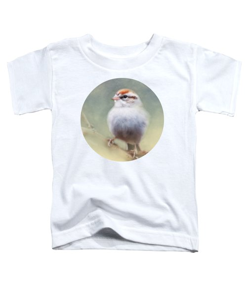 Serendipitous Sparrow  Toddler T-Shirt by Anita Faye