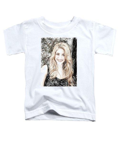 Shakira Toddler T-Shirt by Raina Shah