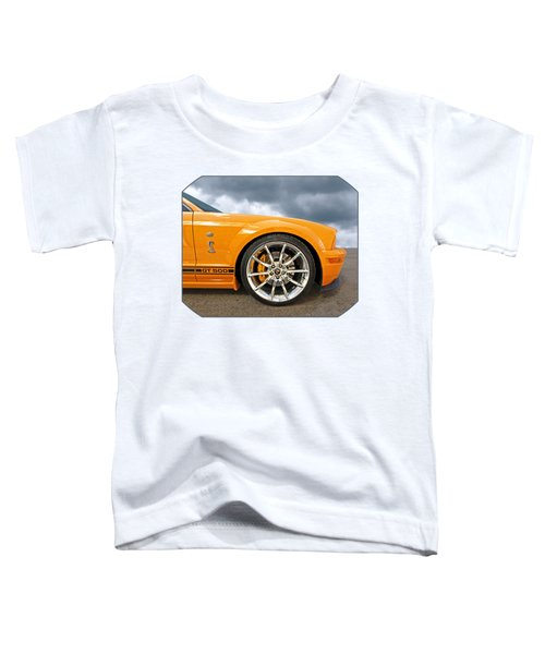Shelby Gt500 Wheel Toddler T-Shirt by Gill Billington