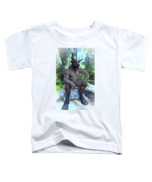 Sitting Bull Toddler T-Shirt by Joaquin Abella