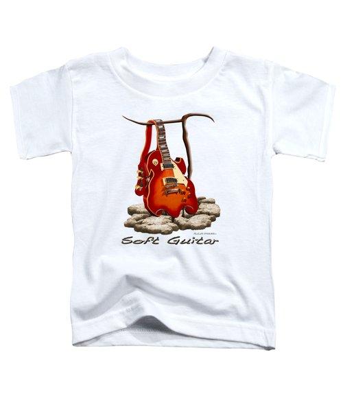 Soft Guitar - 3 Toddler T-Shirt by Mike McGlothlen
