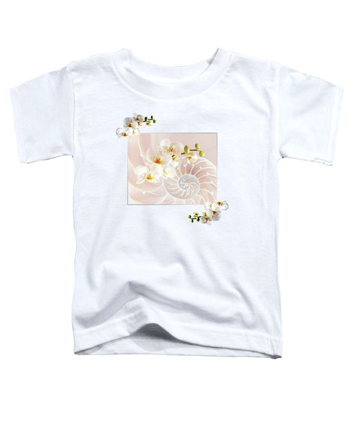 Soft Pink Fusion Toddler T-Shirt by Gill Billington