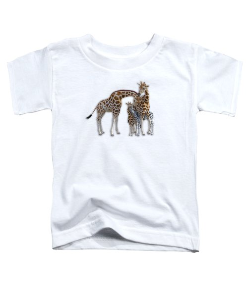 Sometimes You Have To Find The Right Spot To Fit In Toddler T-Shirt by Betsy Knapp