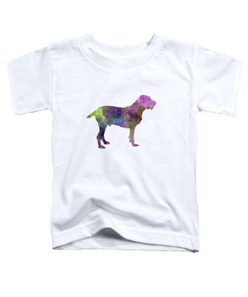 Spinone In Watercolor Toddler T-Shirt by Pablo Romero