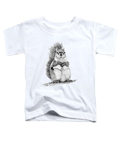 Squirrel Toddler T-Shirt by John Stuart Webbstock