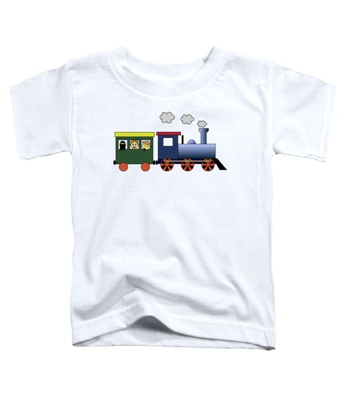 Steam Train Toddler T-Shirt by Miroslav Nemecek