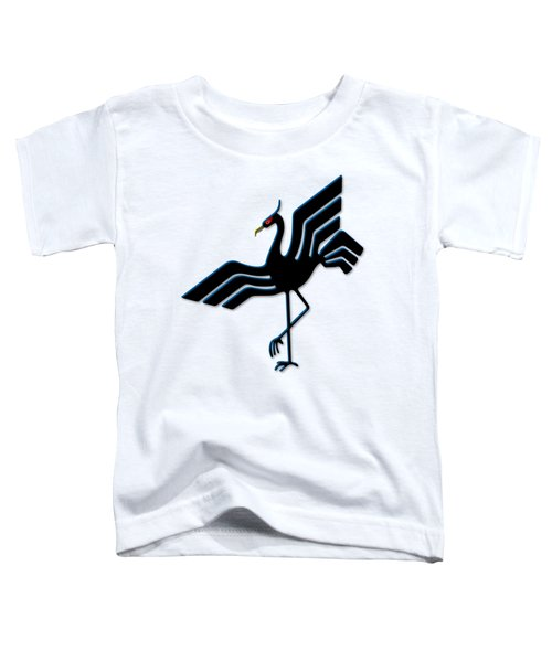 Stork Toddler T-Shirt by Frederick Holiday