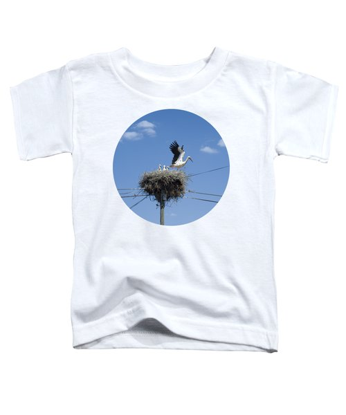 Storks Nest Alentejo Toddler T-Shirt by Mikehoward Photography