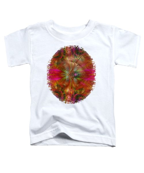 Strawberry Fields Abstract Toddler T-Shirt by Sharon and Renee Lozen