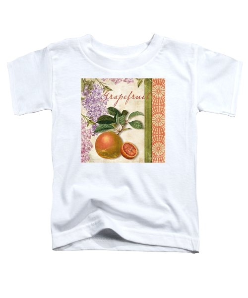 Summer Citrus Grapefruit Toddler T-Shirt by Mindy Sommers