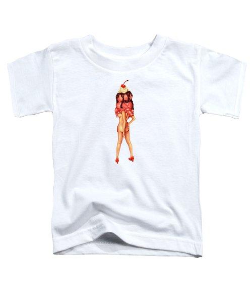 Sundae Best IIi Toddler T-Shirt by Kelly Gilleran