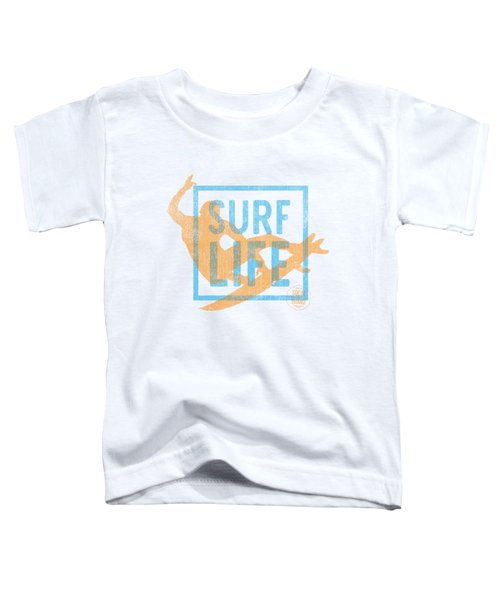 Surf Life 1 Toddler T-Shirt by SoCal Brand