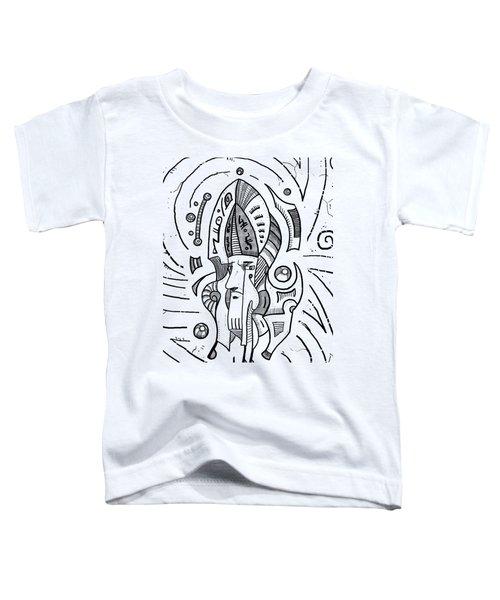 Surrealist Head Toddler T-Shirt by Erki Schotter