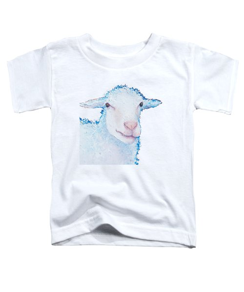 T-shirt With Sheep Design Toddler T-Shirt by Jan Matson