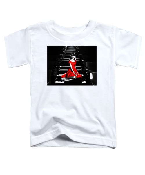 Taylor Swift 8c Toddler T-Shirt by Brian Reaves