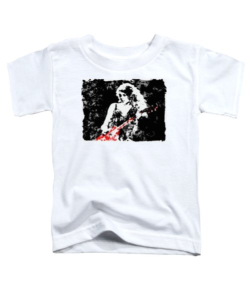 Taylor Swift 90c Toddler T-Shirt by Brian Reaves