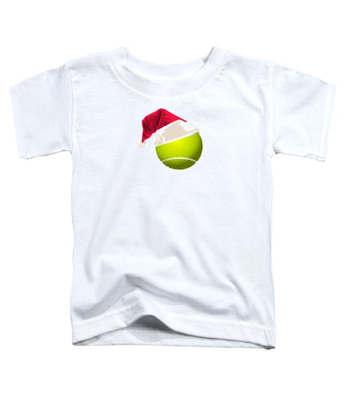 Tennis Christmas Gifts Toddler T-Shirt by MGdezigns