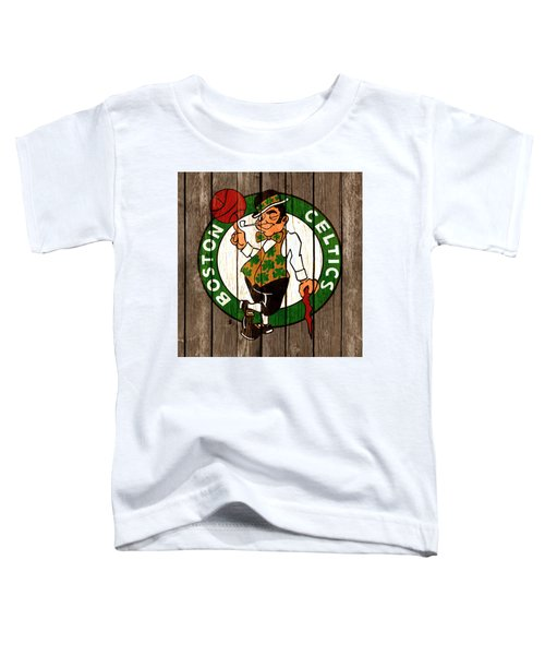 The Boston Celtics 2b Toddler T-Shirt by Brian Reaves