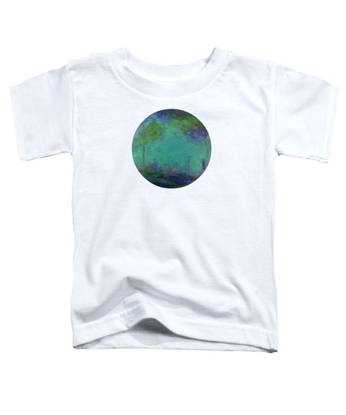 The City In The Distance Toddler T-Shirt by Mary Wolf