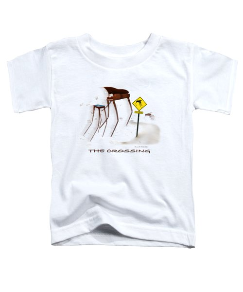The Crossing Se Toddler T-Shirt by Mike McGlothlen