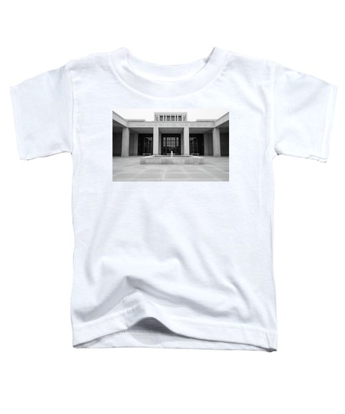 The George W. Bush Presidential Library And Museum  Toddler T-Shirt by Robert Bellomy