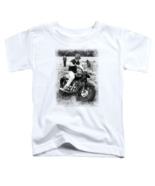 The Great Escape Toddler T-Shirt by Mark Rogan
