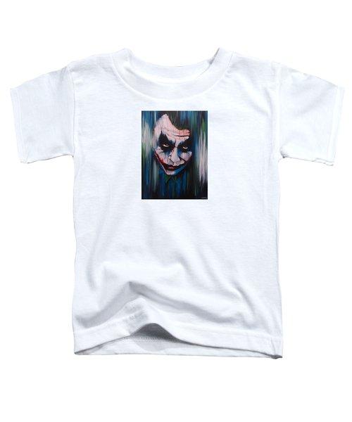The Joker Toddler T-Shirt by Michael Walden