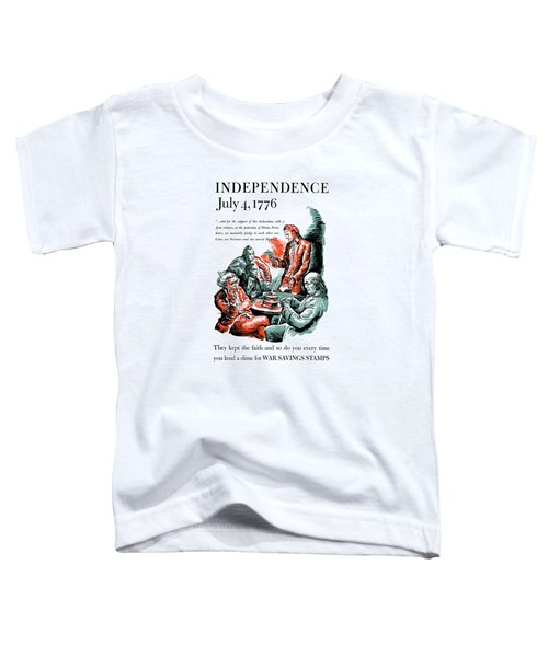 They Kept The Faith - Ww2 Toddler T-Shirt by War Is Hell Store