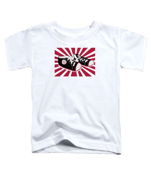 Tiny Feet Toddler T-Shirt by Priscilla Wolfe