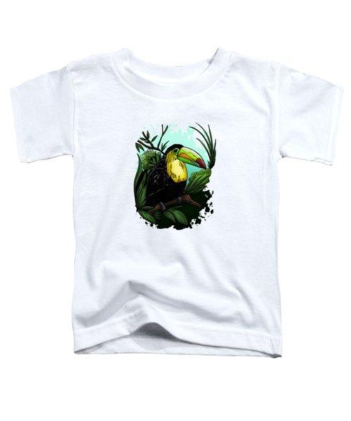 Toucan Toddler T-Shirt by Adam Santana