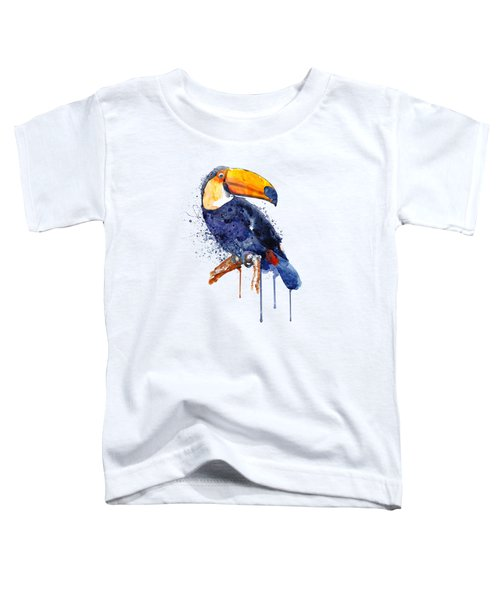 Toucan Toddler T-Shirt by Marian Voicu