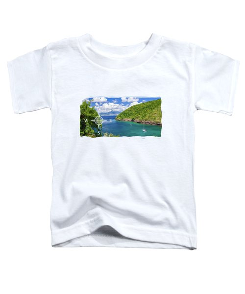 Tropical Lagoon Toddler T-Shirt by Konstantin Sevostyanov