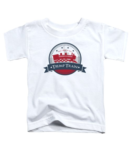 Trump Train Toddler T-Shirt by Eye Candy Creations
