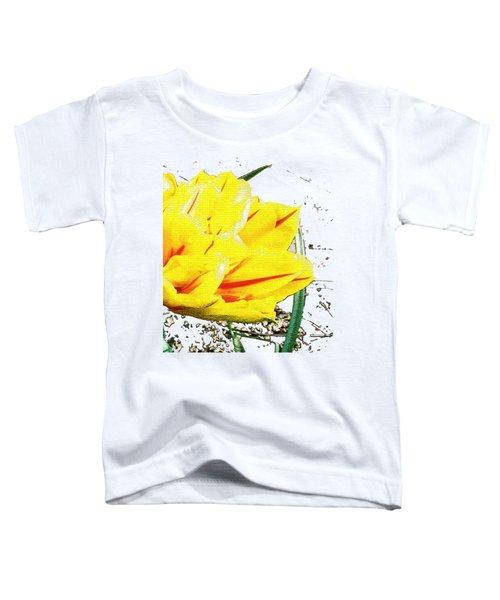 Tulip 3 Toddler T-Shirt by Vesna Martinjak