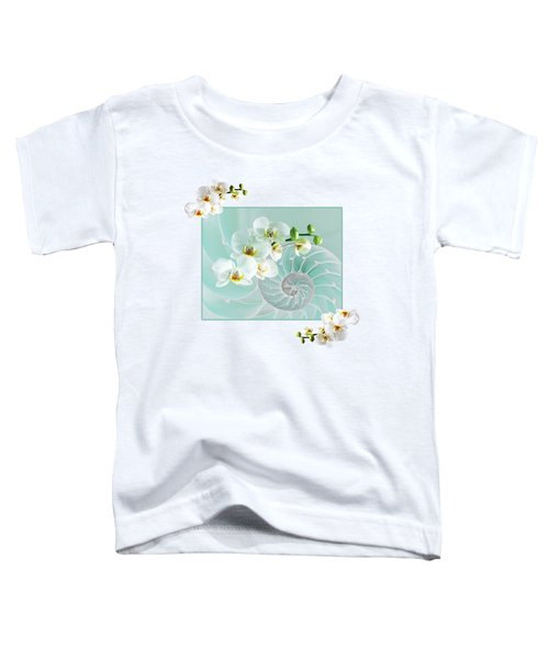 Turquoise Fusion Toddler T-Shirt by Gill Billington