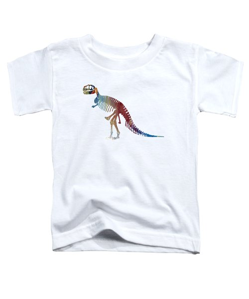 Tyrannosaurus Rex Skeleton Toddler T-Shirt by Mordax Furittus