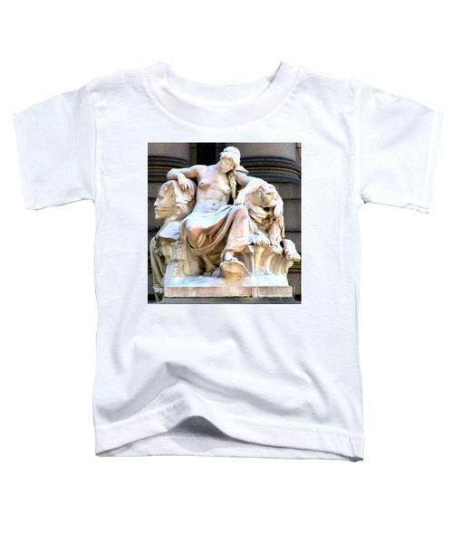U S Custom House 3 Toddler T-Shirt by Randall Weidner