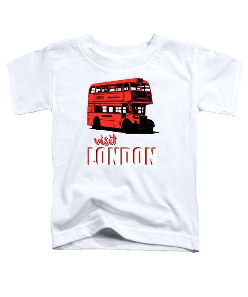 Visit London Tee Toddler T-Shirt by Edward Fielding