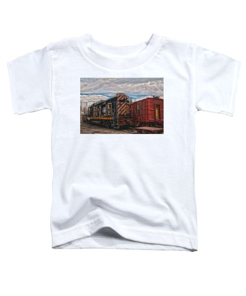 Waiting For Work Toddler T-Shirt by Michael Connor