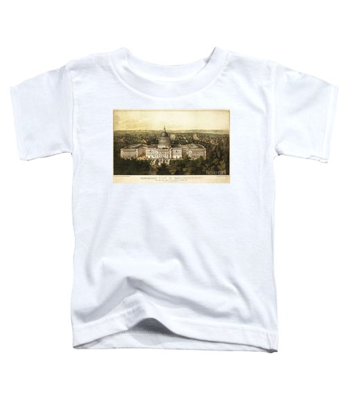 Washington City 1857 Toddler T-Shirt by Jon Neidert