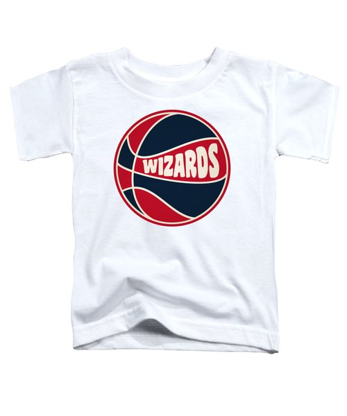 Washington Wizards Retro Shirt Toddler T-Shirt by Joe Hamilton