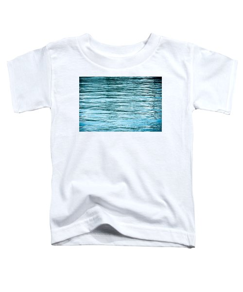 Water Flow Toddler T-Shirt by Steve Gadomski