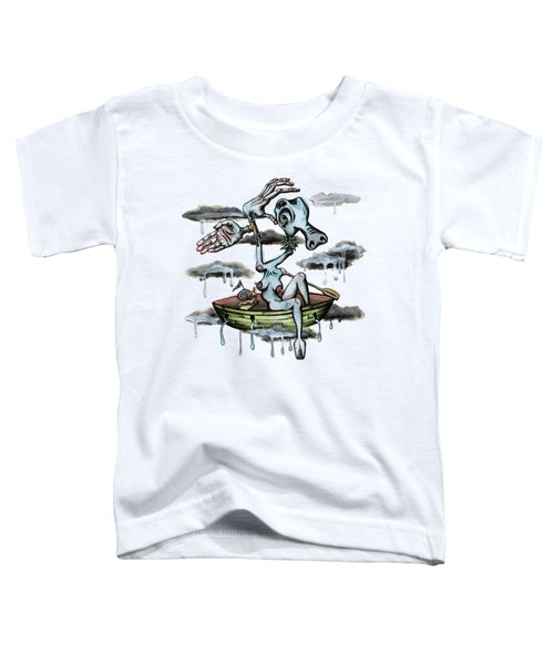 Why Sky Captain Toddler T-Shirt by Kelly Jade King