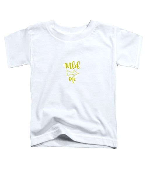 Wild One In Avocado Toddler T-Shirt by Chastity Hoff