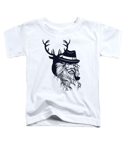 Wise Wild Toddler T-Shirt by Argd