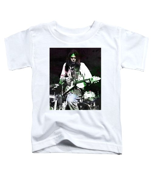 Young Neil Toddler T-Shirt by John Malone
