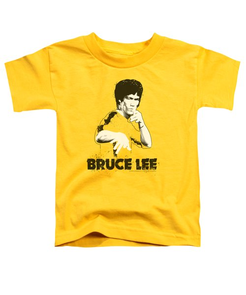 Bruce Lee - Suit Splatter Toddler T-Shirt by Brand A