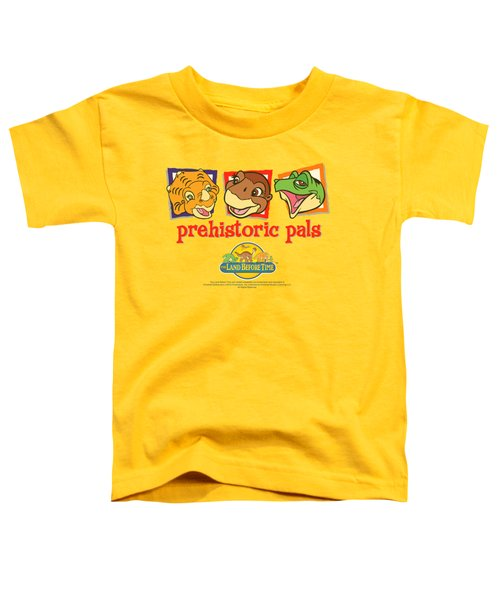 Land Before Time - Prehistoric Pals Toddler T-Shirt by Brand A